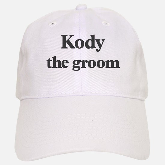 Kody the groom Baseball Baseball Cap