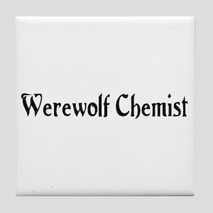 Werewolf Chemist Tile Coaster