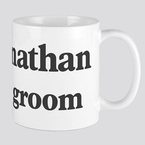 Johnathan the groom Mug