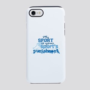 Sport Punishment Blue iPhone 8/7 Tough Case