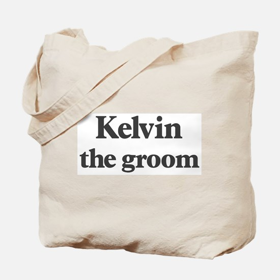 Kelvin the groom Tote Bag