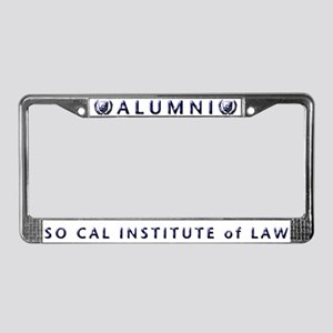 SCIL License Plate Frame
