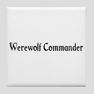 Werewolf Commander Tile Coaster