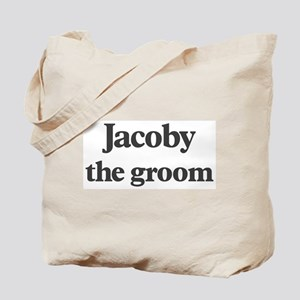Jacoby the groom Tote Bag