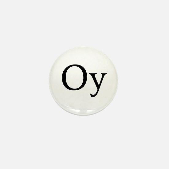 "Jewish ""Oy"" Mini Button"
