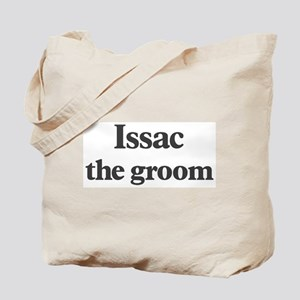 Issac the groom Tote Bag