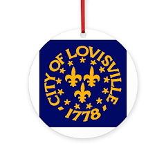 Louisville ceramic ornament