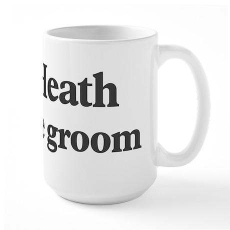 Heath the groom Large Mug