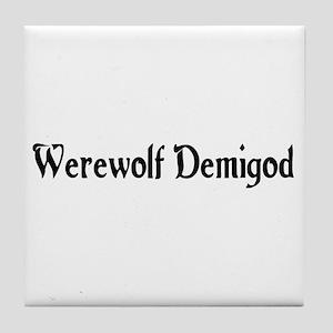 Werewolf Demigod Tile Coaster