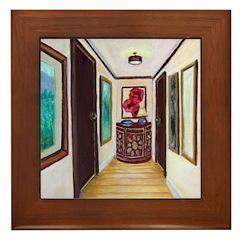 Feng Shui Cure For Hallways Framed Tile