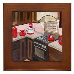 Feng Shui Cure For Kitchen Framed Tile