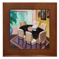 Feng Shui Cure For Dining Areas Framed Tile