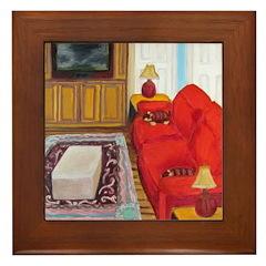 Feng Shui Cure - Living Or Family Room Framed Tile