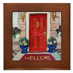 Feng Shui Cure For Entrances Framed Tile