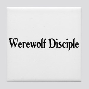 Werewolf Disciple Tile Coaster
