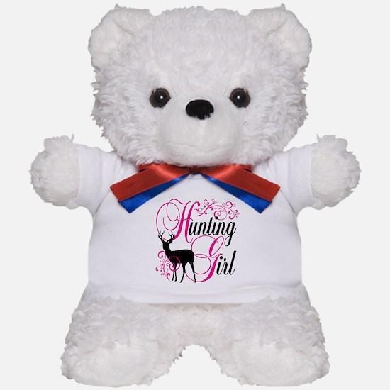 Hunting Girl Teddy Bear