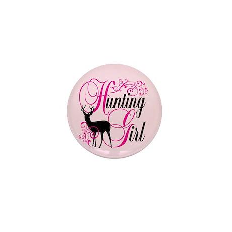 Hunting Girl Mini Button