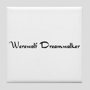 Werewolf Dreamwalker Tile Coaster