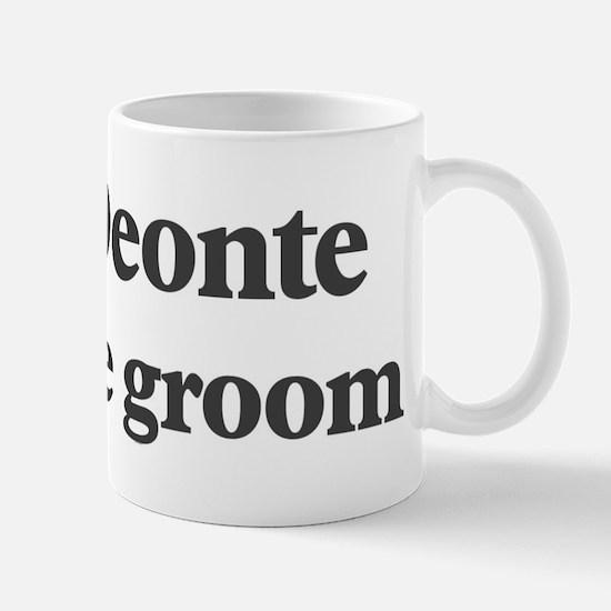 Deonte the groom Mug