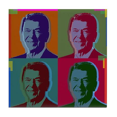 Ronald Reagan Tile Coaster