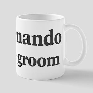 Fernando the groom Mug