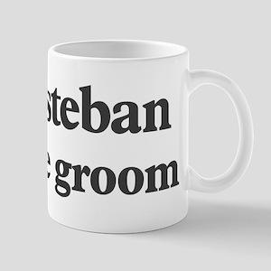 Esteban the groom Mug