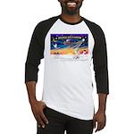 XmasSunrise/Havanese (w) Baseball Jersey