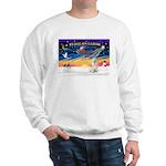 XmasSunrise/Havanese (w) Sweatshirt