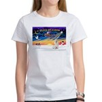 XmasSunrise/Havanese (w) Women's T-Shirt