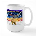 XmasSunrise/Wheaten #2 Large Mug