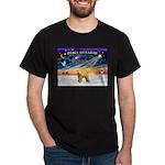 XmasSunrise/Wheaten #2 Dark T-Shirt