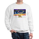XmasSunrise/Wheaten #2 Sweatshirt