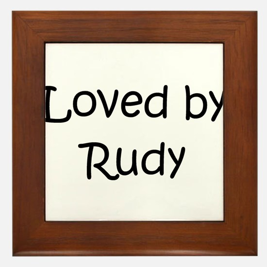 Unique Rudy Framed Tile