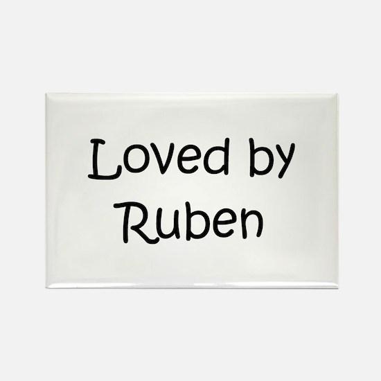 Cute Ruben Rectangle Magnet