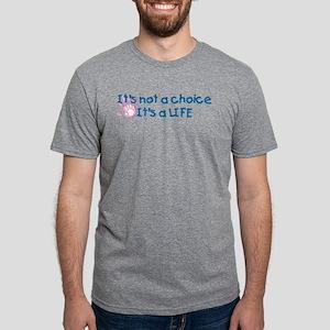 It's a LIFE Mens Tri-blend T-Shirt