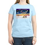 XmasSunrise/2 Silky Ter Women's Light T-Shirt