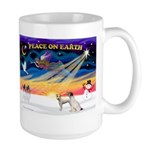 XmasSunrise/2 JRT Large Mug