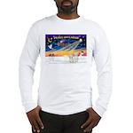 XmasSunrise/2 Cotons Long Sleeve T-Shirt