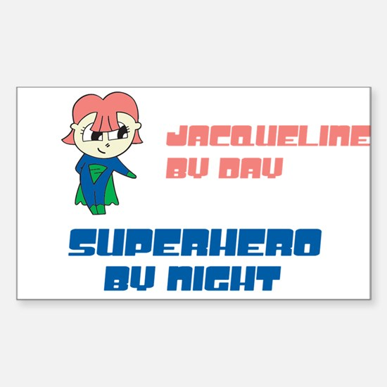 Jac - CIA Agent by Nightuelin Rectangle Decal