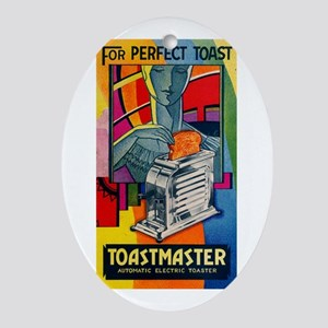 Toastmaster 1A1 Ornament (Oval)