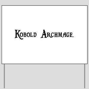 Kobold Archmage Yard Sign