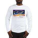 XmasSunrise/2 Bichons Long Sleeve T-Shirt
