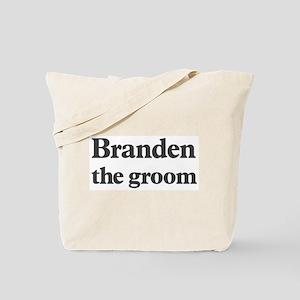 Branden the groom Tote Bag
