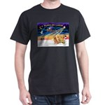 XmasSunrise/3 Goldens Dark T-Shirt