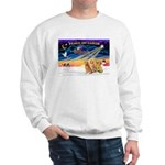 XmasSunrise/3 Goldens Sweatshirt