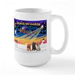 XmasSunrise/3 Cairns Large Mug
