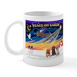 XmasSunrise/3 Cairns Mug