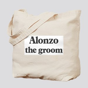 Alonzo the groom Tote Bag