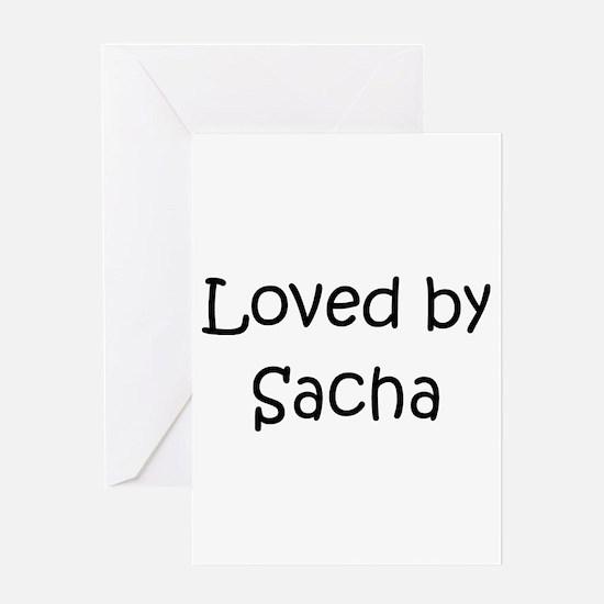 Sacha Greeting Card