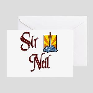 Sir Neil Greeting Card
